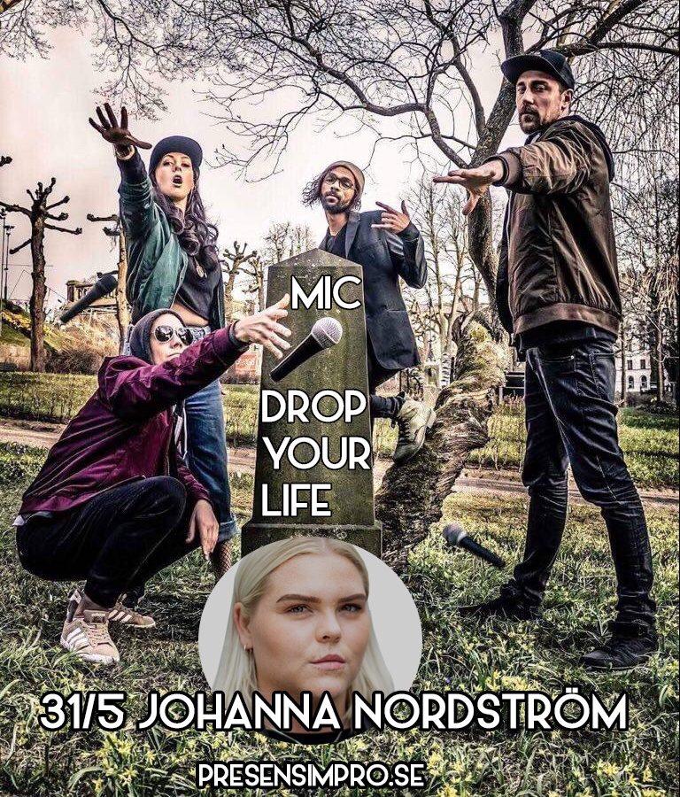 <small>31 maj </small> <br> Johanna Nordström